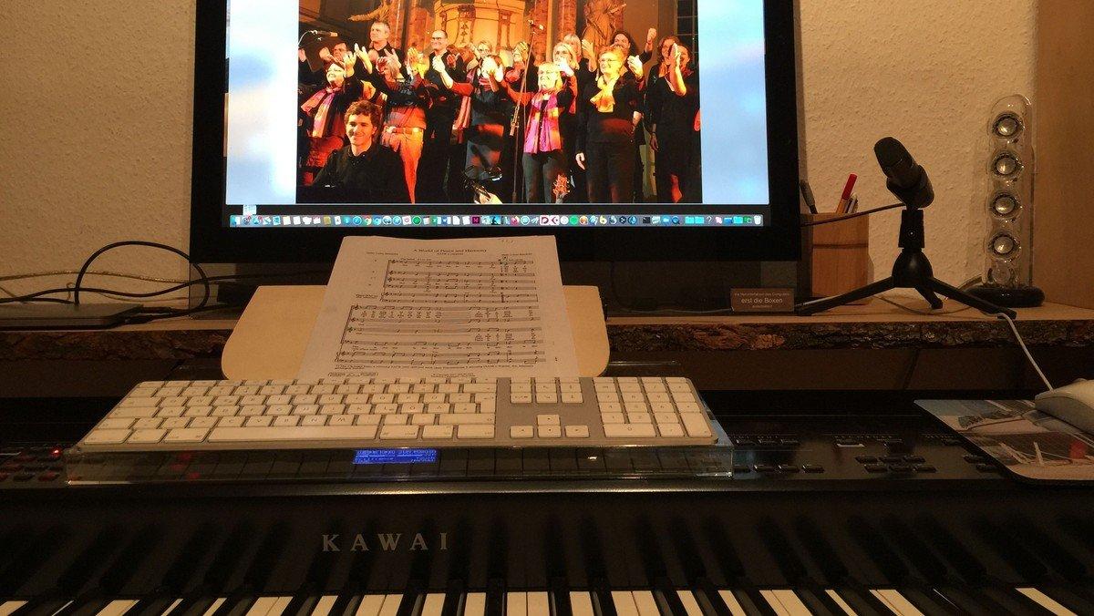 Änderung: Gospelchor in der Kirche