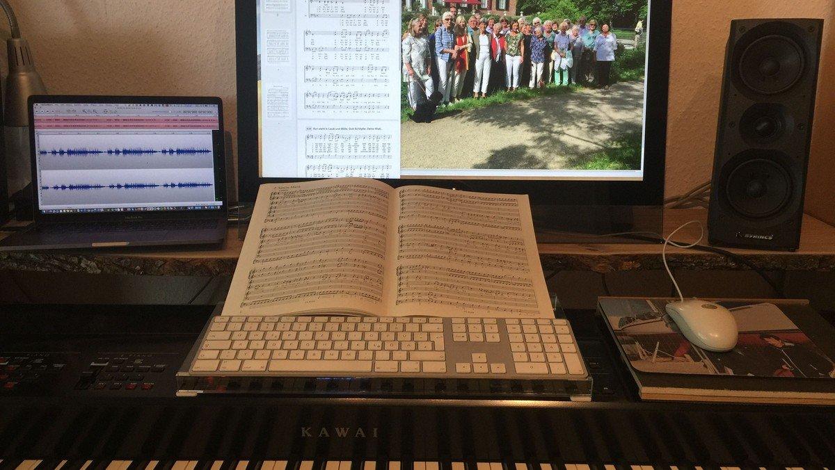 Änderung: Kantoreiprobe in der Kirche