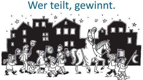 Gemeinsames Martinsfest der Gemeinden Matthias-Claudius und Berlin-Heiligensee mit Lagerfeuer