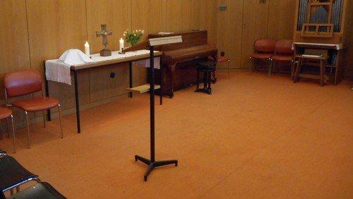 Gottesdienst mit Abendmahl im Diakoniezentrum Heiligensee