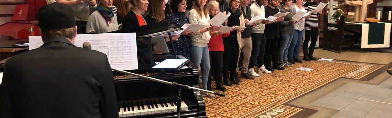 Erstes Konzert des Popchor Spandau