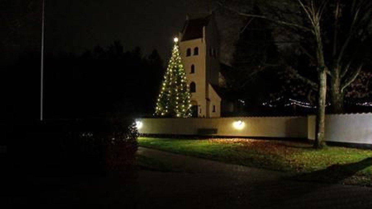 Julegudstjeneste i Nivå Kirke