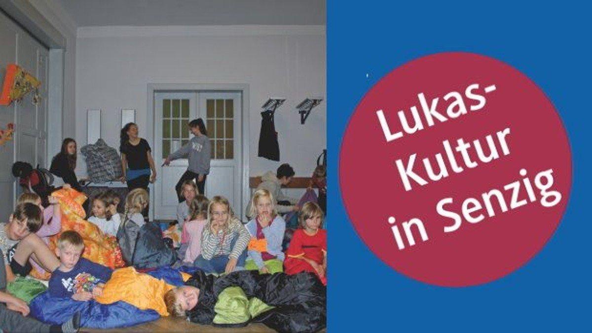 LUKAS-KULTUR in Senzig: Bibelerzählnacht