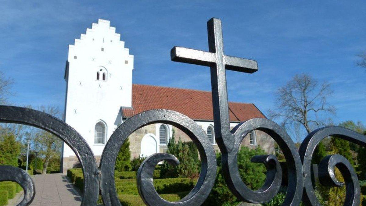 Gudstjeneste i Sønder Tranders Kirke