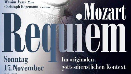 Gottesdienst mit Mozart-Requiem