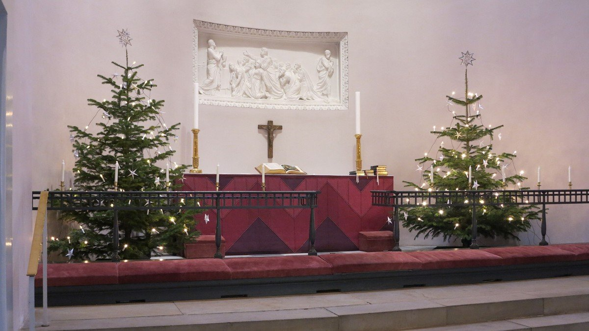 Julegudstjeneste i kirken