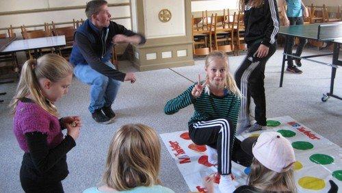 AFLYST. Kirkens juniorklub for 4.-7. kl. i Skerping