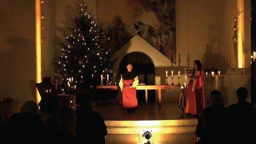 Spätmittelalterlisches Konzert bei Kerzenschein
