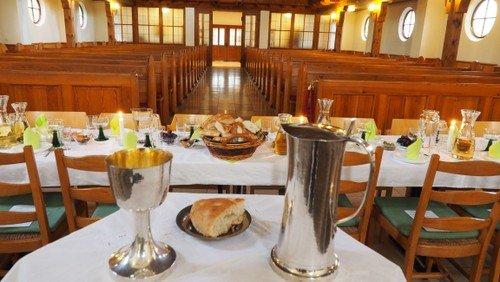 Tischabendmahl zum Gründonnerstag-entfällt wegen Corona Pandemie