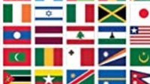 International gudstjeneste med De ni læsninger på ni sprog. Liturg Ulla Elvira Hermann