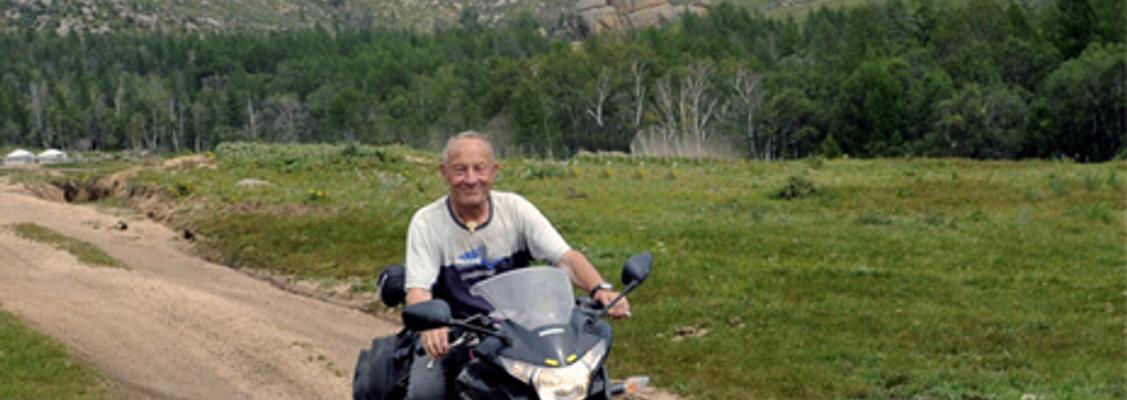 Torsdagstræf - Silkevejen på motorcykel