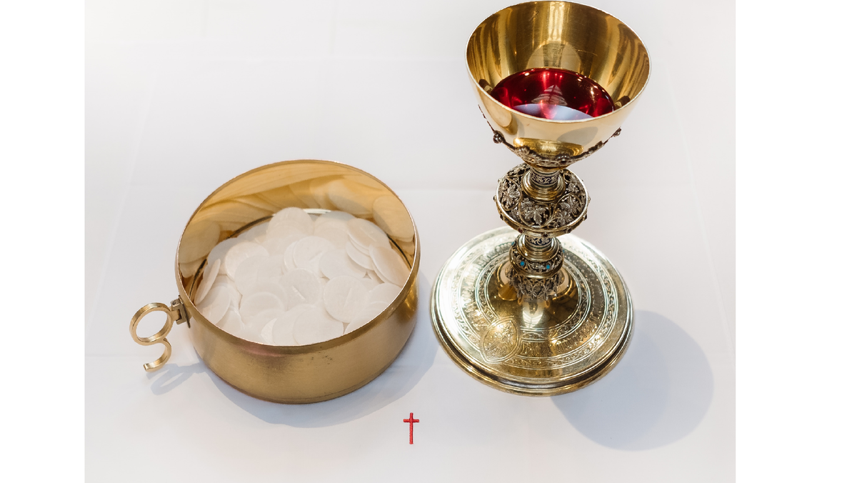 Eucharist - Facebook broadcast in place of worship