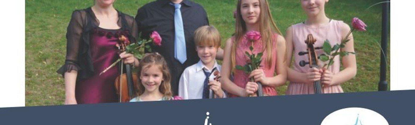 Weihnachtliches Konzert mit der Familie Rau - auch zum Mitsingen