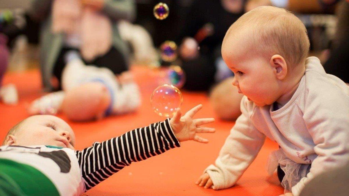 Babysalmesang - holdstart 11/8