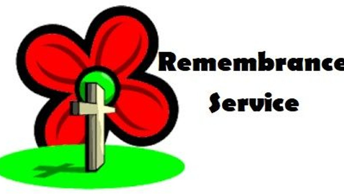 Remembrance Service  at the War Memorial