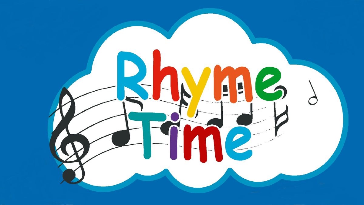 Rhyme Time - SUSPENDED until further notice - COVID 19