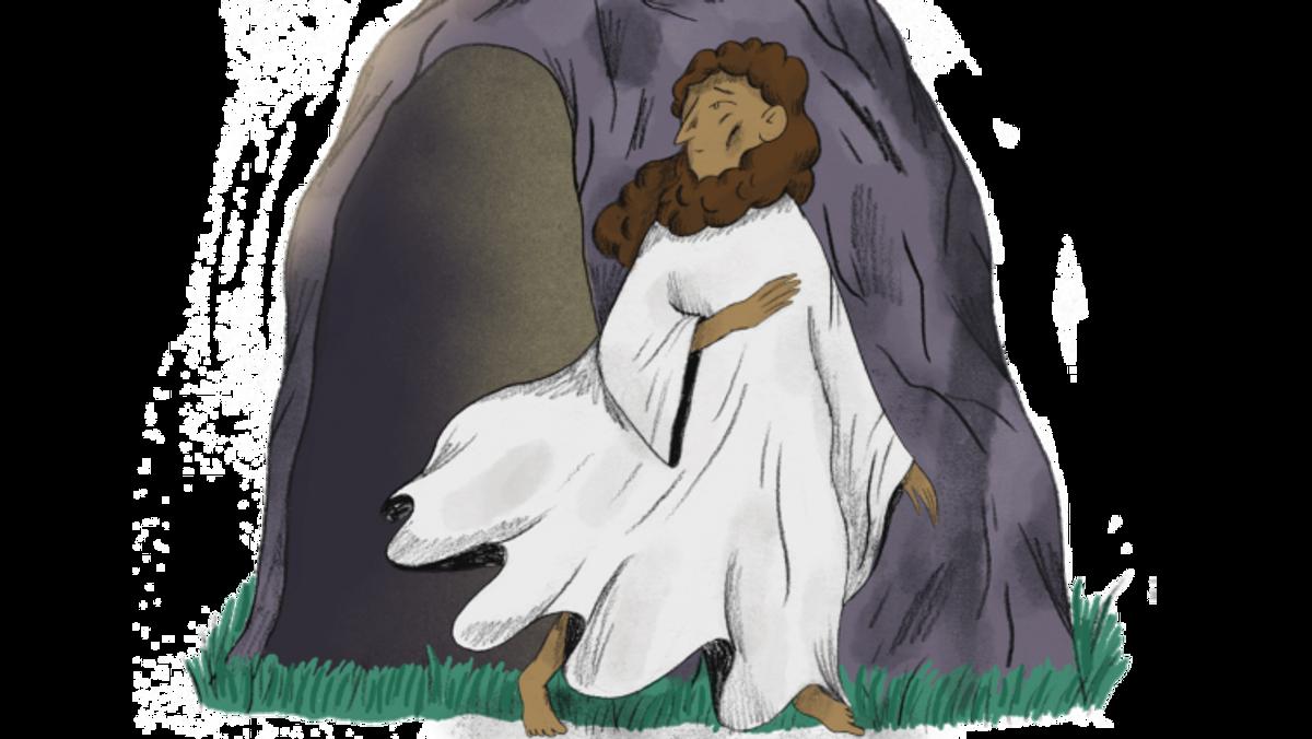 Gud & Gaffel / Børnegudstjeneste  / PÅSKEN FORTALT FOR BØRN