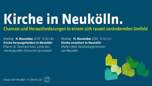 """""""Reden in der Kirchgasse: Kirche verankert in Neukölln"""""""