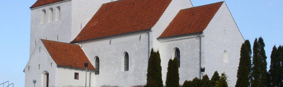 Gudstjeneste for skaberværket i Sdr. Asmindrup Kirke v. Detlef von Holst