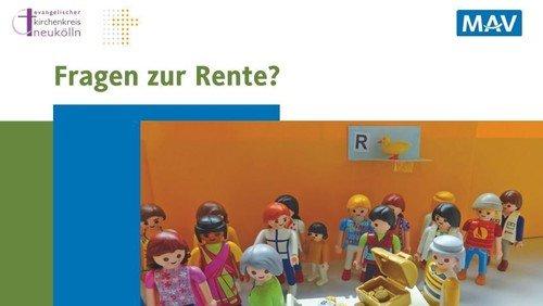 Infoveranstaltung zu Rente und Zusatzversorgung für Mitarbeitende des Kirchenkreises Neukölln / VEKS