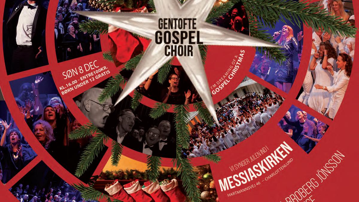Julekoncert - Gentofte Gospel Choir