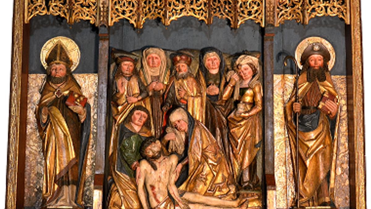 Nagelkreuzgebet in der Nikolaikirche