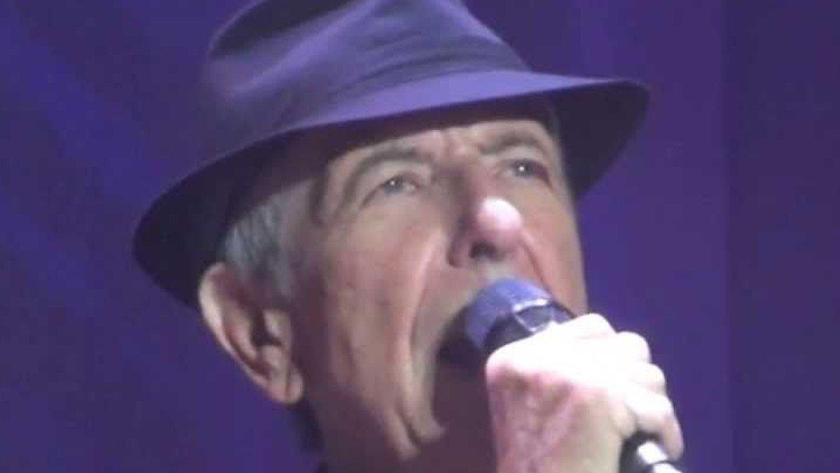 AFLYST - Leonard Cohens religiøse univers - Musikgudstjeneste med indledende foredrag