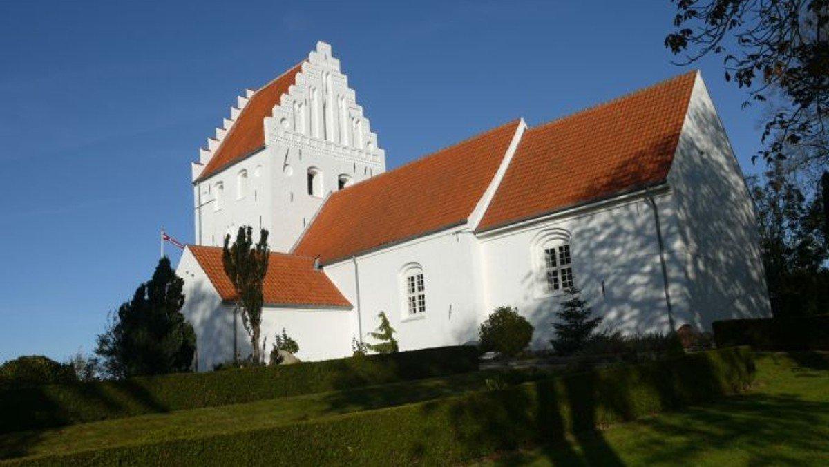 Gudstjenste i Ørslev Kirke