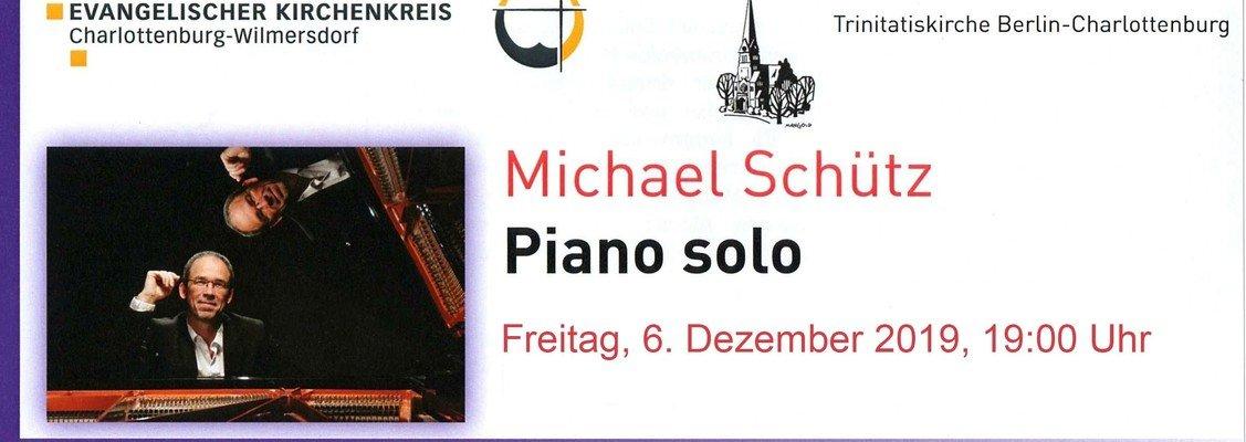 Piano-Solo-Konzert mit Michael Schütz