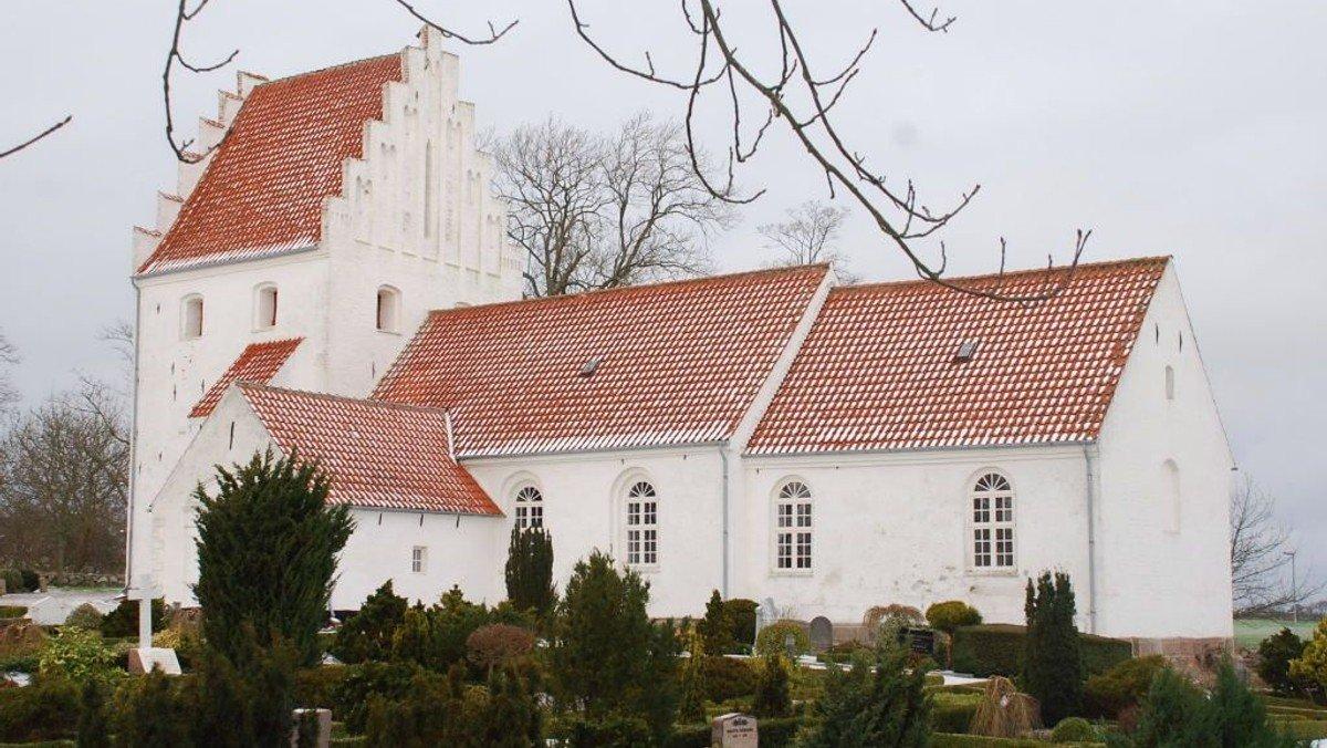 Gudstjeneste i Udby Kirke