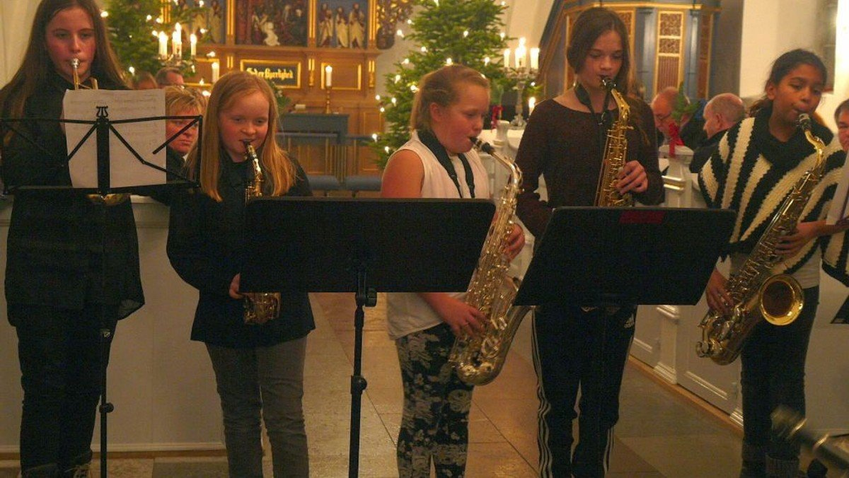Middelfart Musikskoles julekoncert