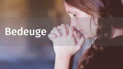 Gudstjeneste i forbindelse med  Evangelisk Alliances Bedeuge