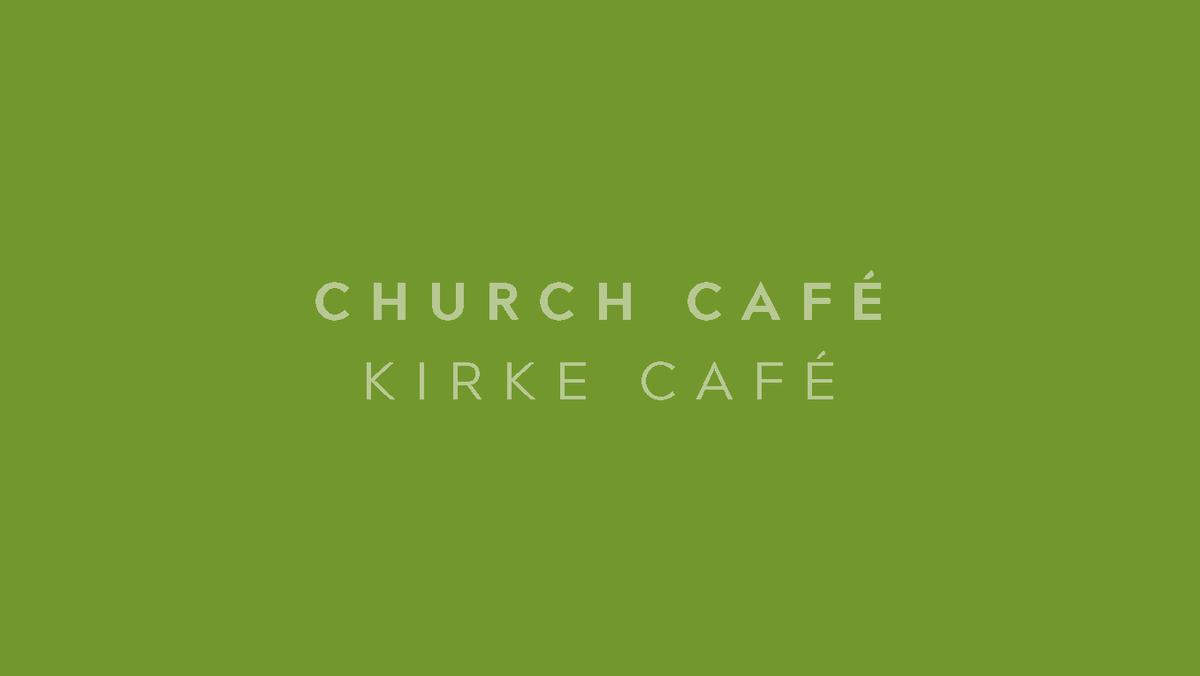 Cancelled: Church Café / Kirke café