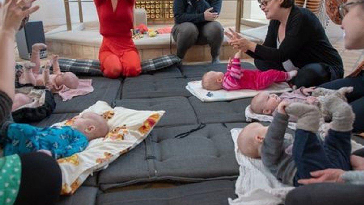 AFLYST Babysalmesang kl. 10.00 og 11.00