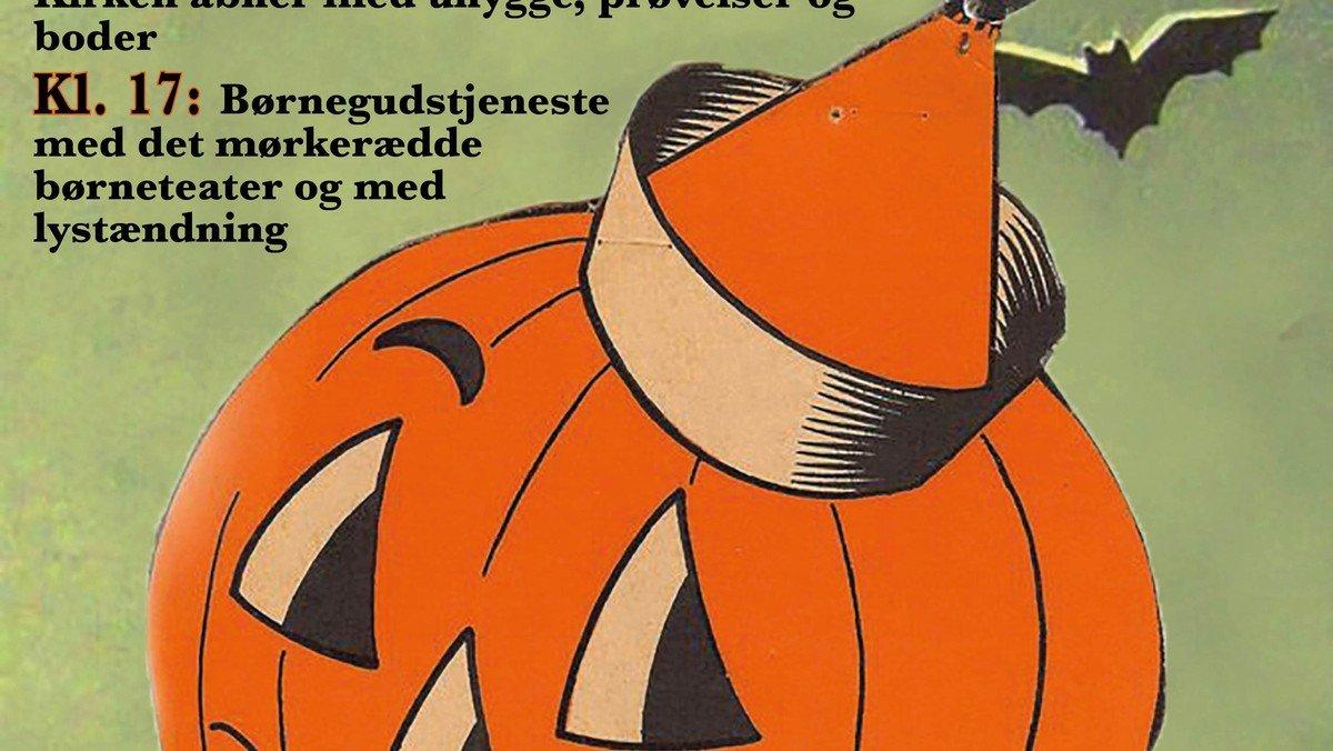 Halloween-Børnegudstjeneste v/ Bettina C. Tranberg