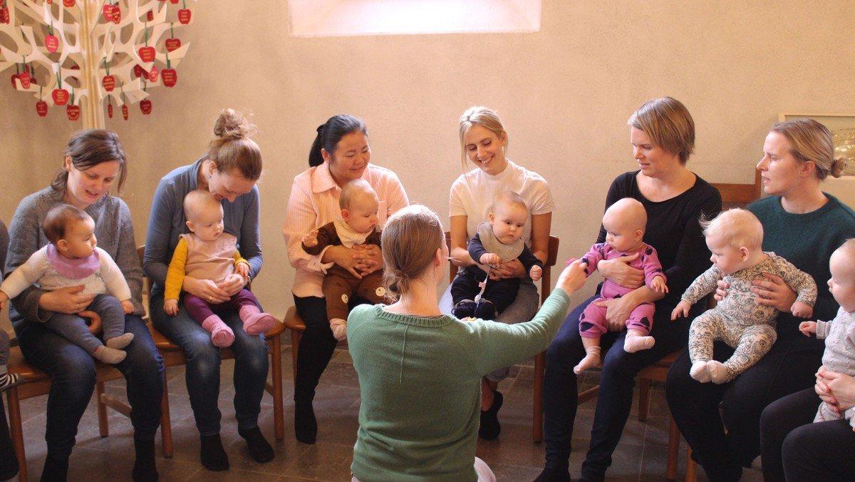 AFLYST! Babysalmesang
