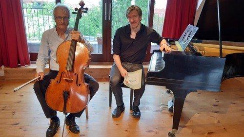 Konzert für Violoncello und Klavier um 17 und 19 Uhr