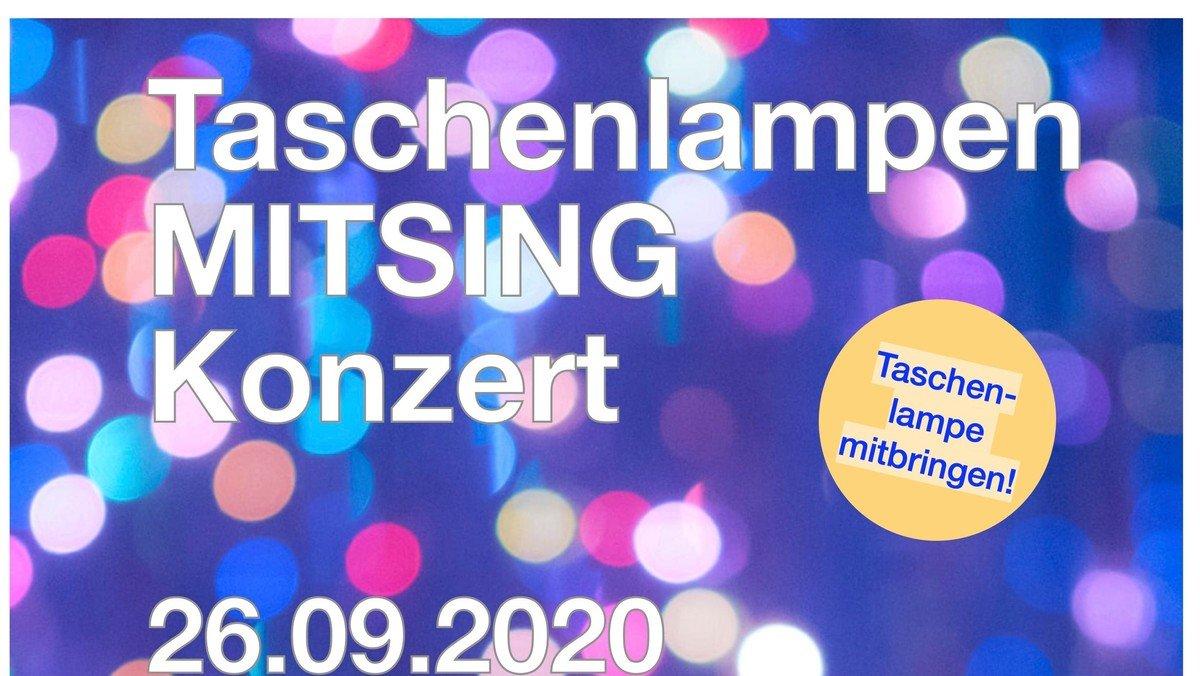 AUSVERKAUFT! Taschenlampen-MITSING-Konzert