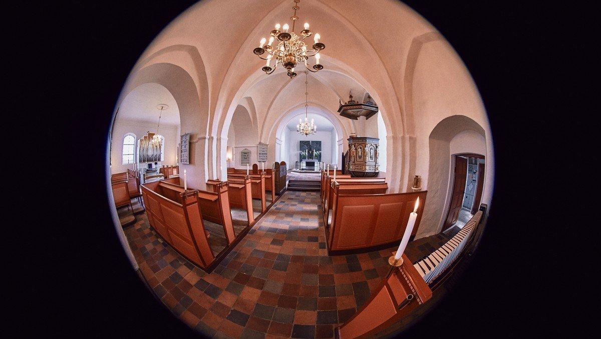 Onlinegudstjeneste i Slagslunde Kirke ved Peter Otken