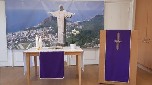 Winterkirche Gottesdienst mit Abendmahl, Jubilate Chor und Kirchenkaffee
