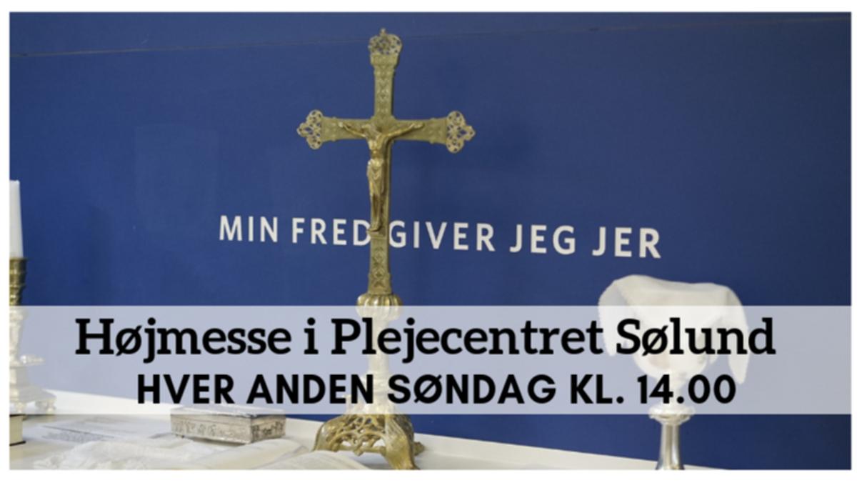 Højmesse i DGBs kirke (flyttet fra Sølund)