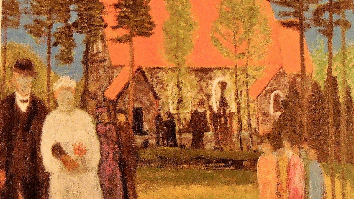 Sogneeftermiddag. Billedkunstneren Jens Søndergaard ved Claus Helweg Ovesen, cand.scient. DELTAGERBEGRÆNSNING PÅ 44
