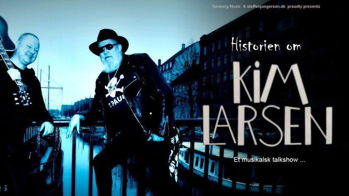 KIM LARSEN: fødselsdag og musikalsk foredrag
