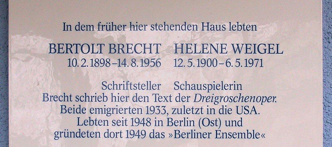 """Autoren lesen in Nordend - Michael Bienert: """"Brechts Berlin"""""""