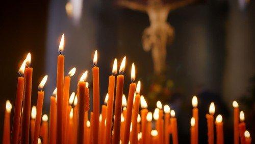 Gudstjeneste i Bårse Kirke - Alle helgens dag