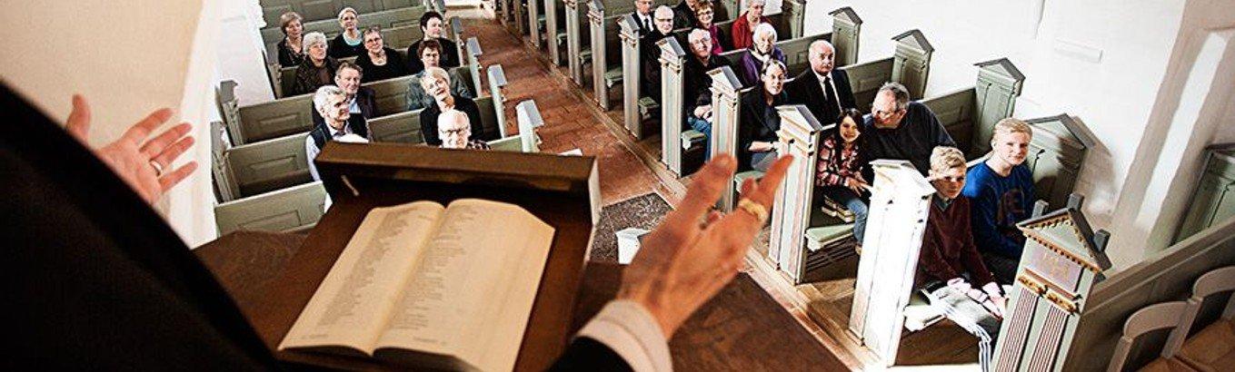 Sogneaften - fælles debat om folkekirkens gudstjeneste