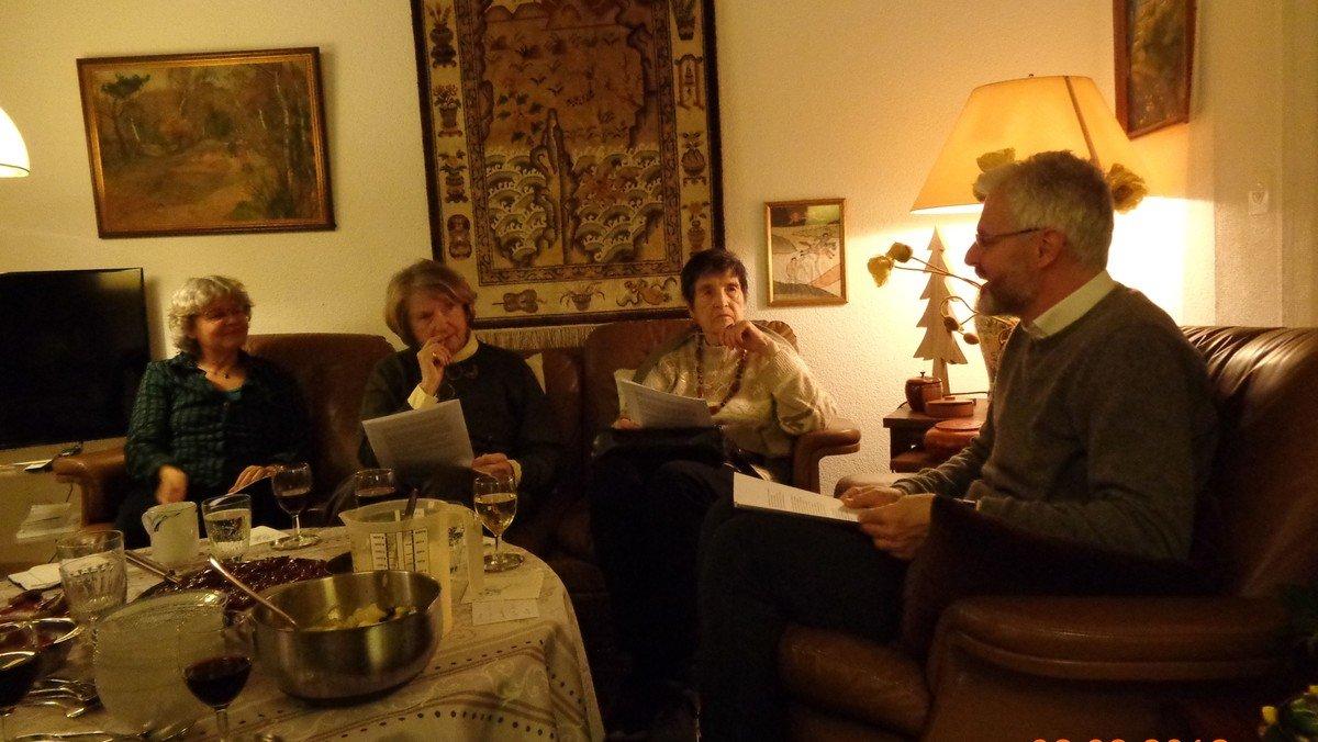Gesprächskreis bei Ute Engelhardt