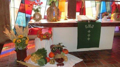 Familiengottesdienst zum Erntedankfest mit Pfr. Krause/Kita
