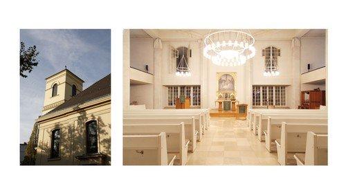 Gottesdienst in der Luisenkirche mit der Pommerschen Landsmannschaft