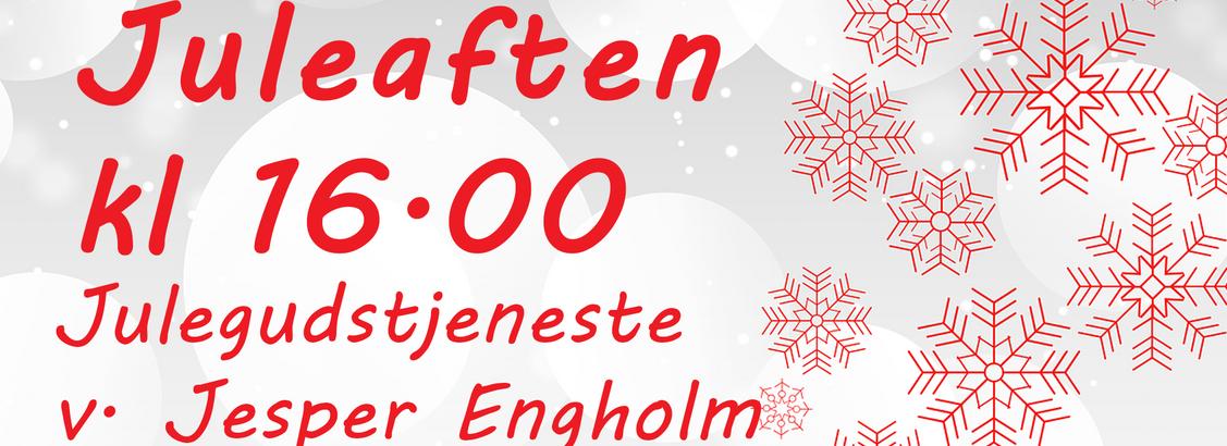 Julegudstjeneste v. Jesper Engholm